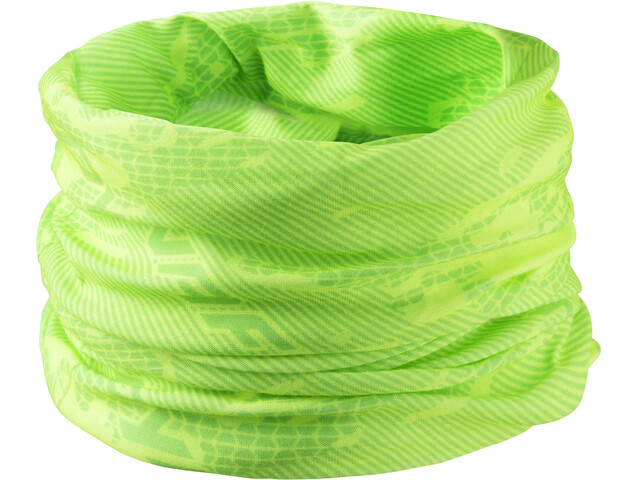 Dynafit Logo Primaloft Halsbedekking geel/groen